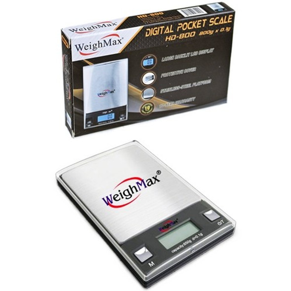 WeighMax HD-800 - 800g x 0.1g