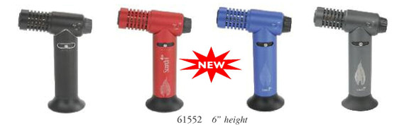 "6.5"" Scorch  Torch with Butane Can - Assorted Colors"