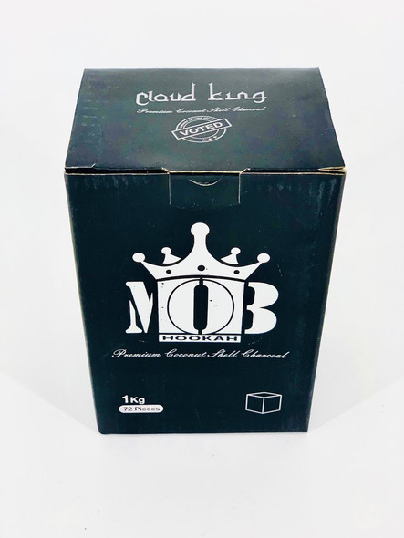 MOB Cloud King Charcoal Cubes - 72 Count