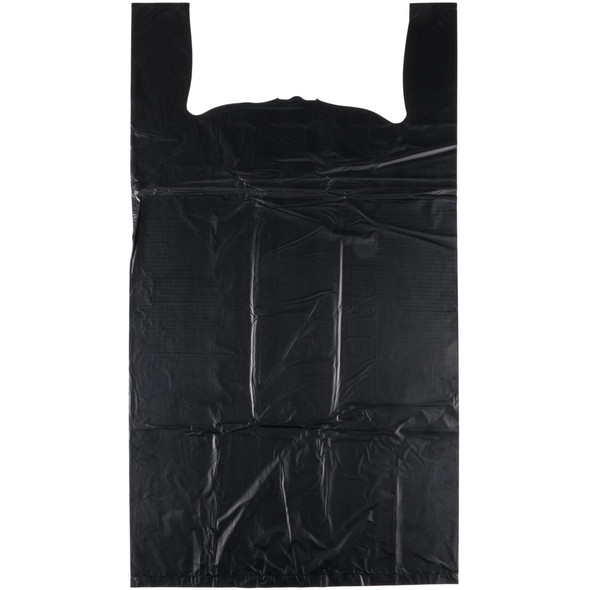 Black Shopping Bags - 1000 Count - Large