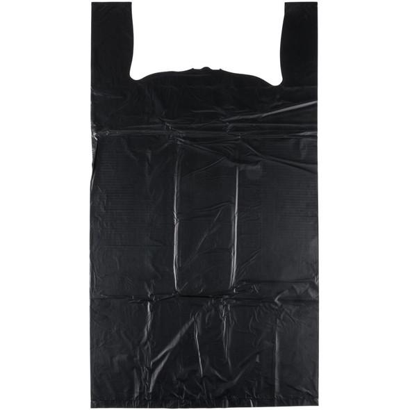 Black Shopping Bags - 1000 Count - Medium
