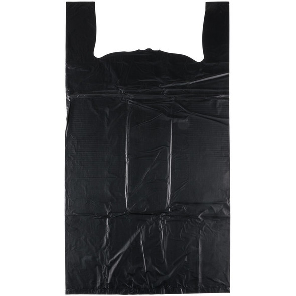 Black Shopping Bags - 1000 Count - Small
