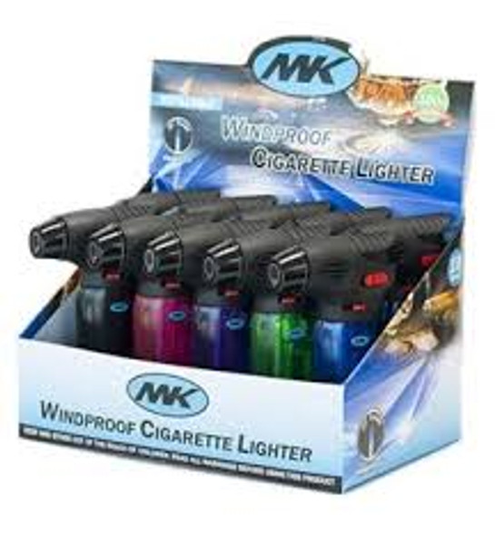 MK Windproof Torch - Display of 10