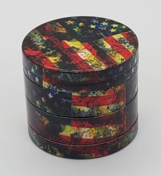 Legal Juana American Flag Grinder 40mm