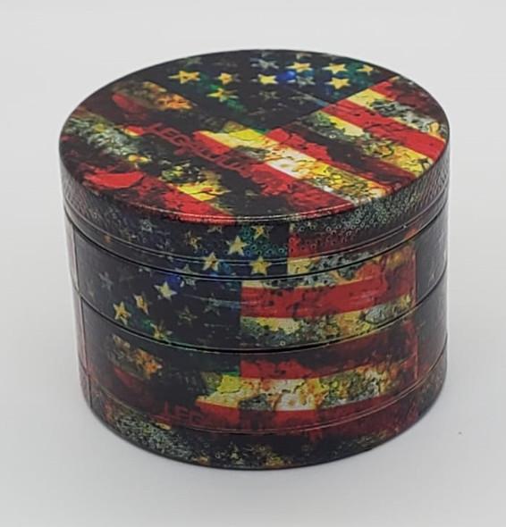 Legal Juana American Flag Grinder 50mm