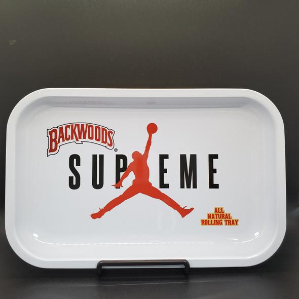 "Medium Rolling Tray 11"" x 7"" - Backwoods Supreme"