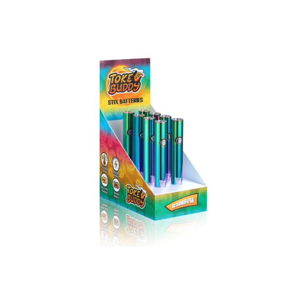 Toke Buddy Stix Battery 8 Count