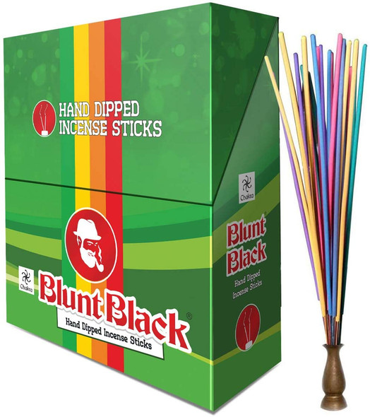 """Blunt Black 10.5"""" Incense Display - 72 Pouches"""