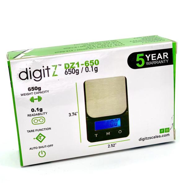 DigitZ DZ1 Scale DZ-650 - 650 x 0.1g