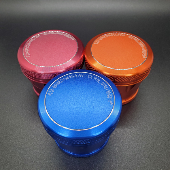 Chromium Crusher Button Top Grinder