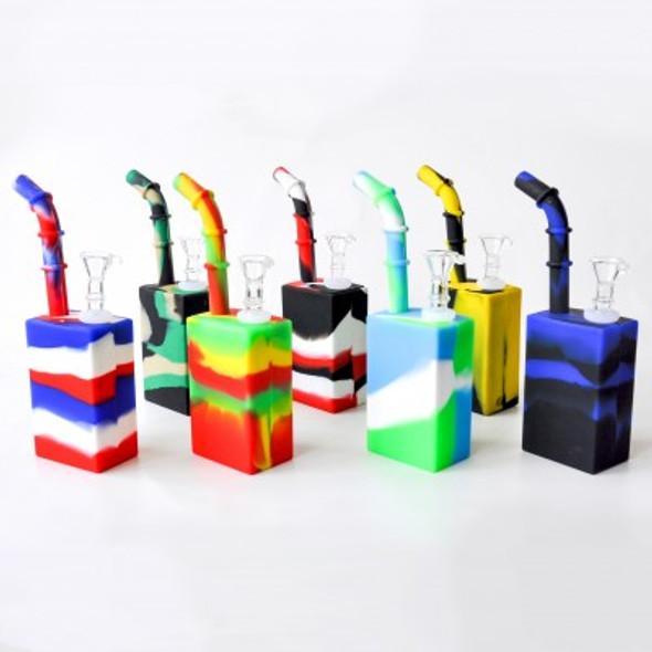 """8"""" Silicone Juice Box - Colored"""