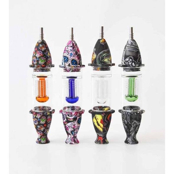 Silicone 8 Arm Nectar Collector - Design