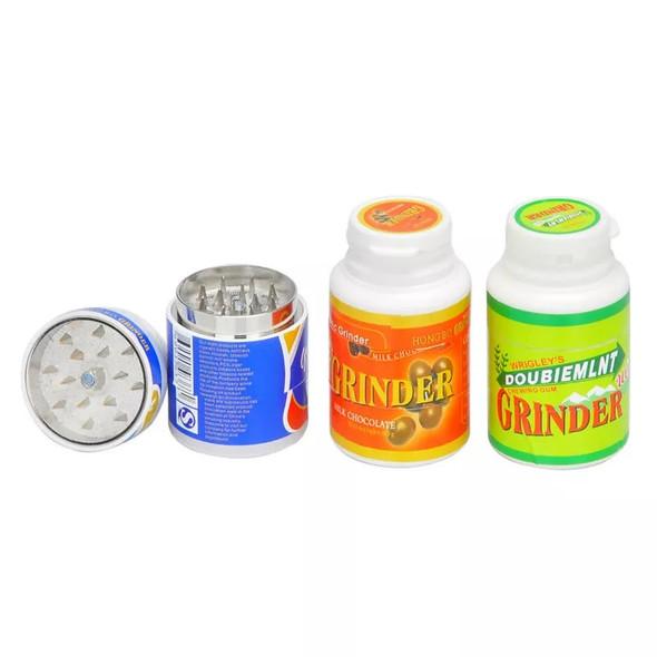 Gum Bottle Grinder - 3 Parts