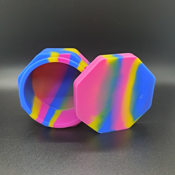 Large Silicone Octagon Container