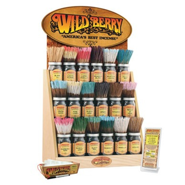 Wild Berry Incense Starter Kit 36 Bundles