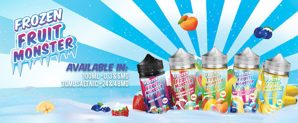 Jam Monster Frozen Fruit Monster 100ml