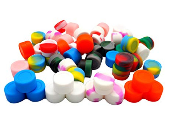 2ml Silicone Jar - 50 Count Bucket