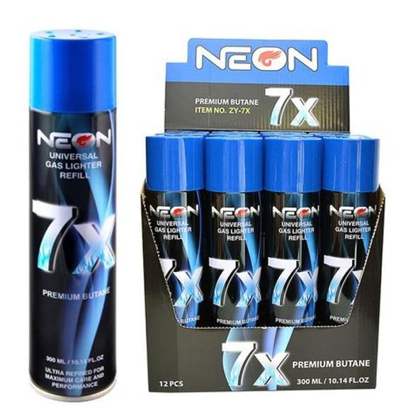 Neon 7x Butane 12ct - $1.75 each