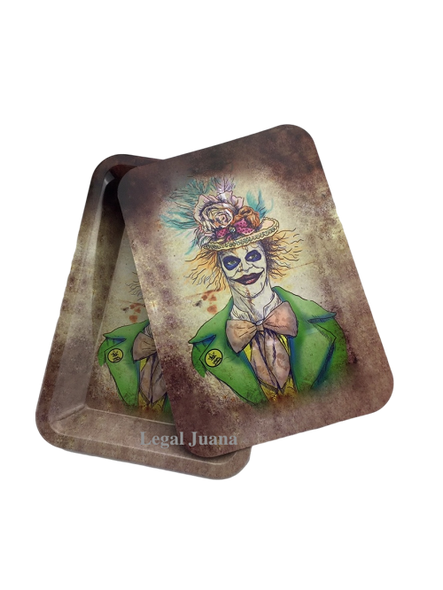 Legal Juana Rolling Tray with Magnetic Cover - Joker