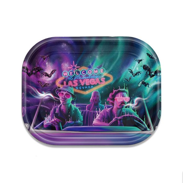 V. Syndicate Metal Rolling Tray Small - Bat Country