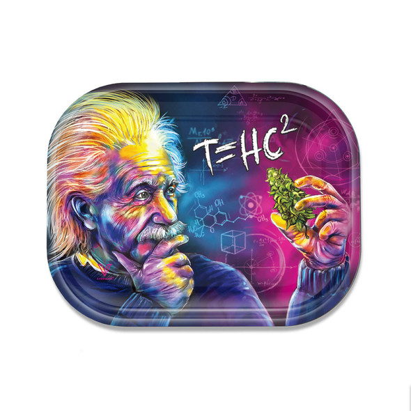 V. Syndicate Metal Rolling Tray Small - T=HC2 Einstein