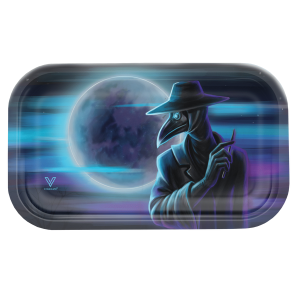 V. Syndicate Metal Rolling Tray Medium - Dark Traveler