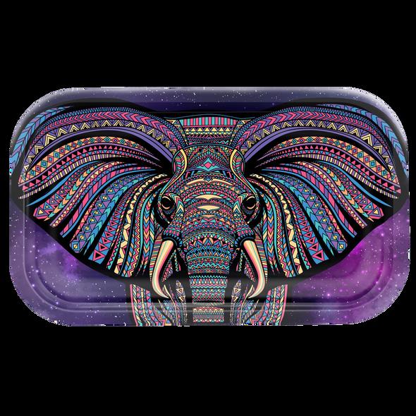 V. Syndicate Metal Rolling Tray Medium - Elephant
