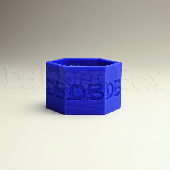 DabberBox Hexagon Qtip Holder