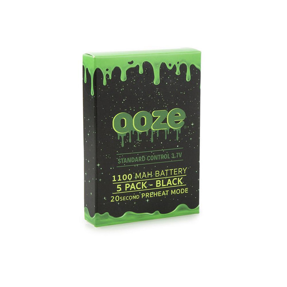 Ooze Regular Battery 5 Pack