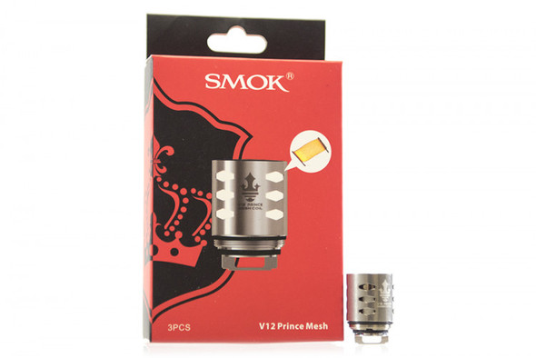 Smok V12 Prince Mesh 0.15ohm Coil 3 Count