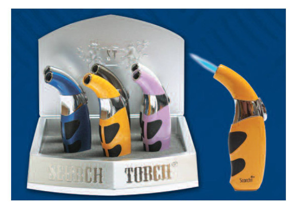 """Scorch Torch Display 4.5"""" - Display of 6"""