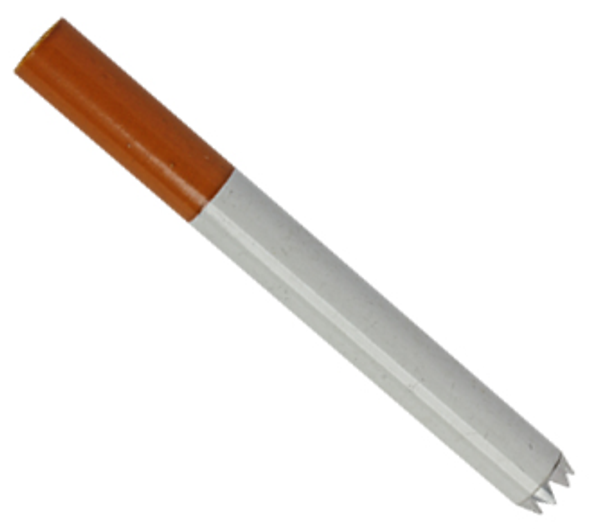 Cigarette with Teeth Long