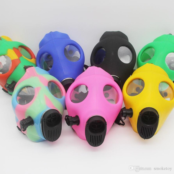 Glow in the Dark Gas Mask