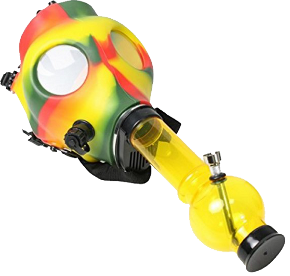 Colored Gas Mask