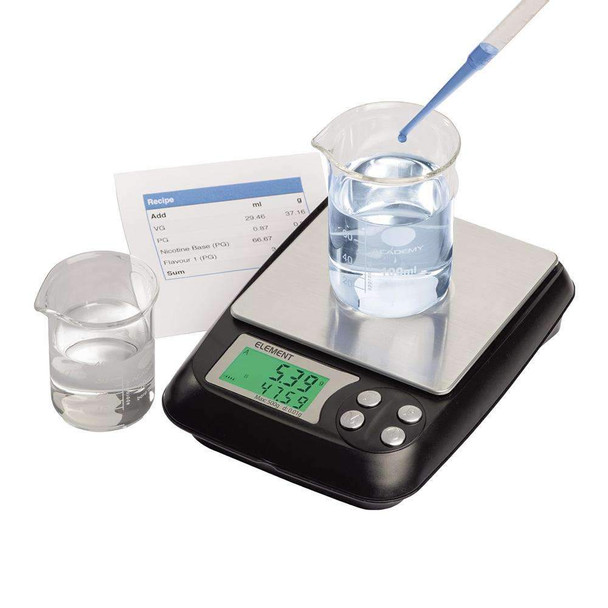 Truweigh Element DIY E-Liquid Scale - 500g x 0.01g