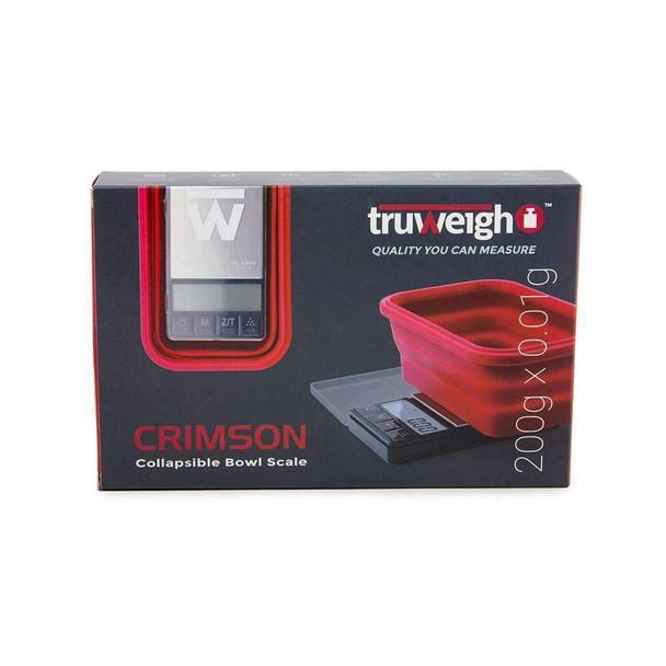Truweigh Crimson Collapsible Bowl 200G X 0.01G