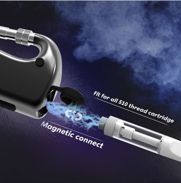 D Hook Vape Cartridge Battery
