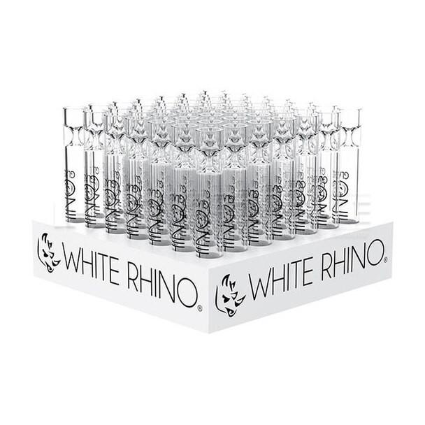 White Rhino XL Chillum Display - 49 Count