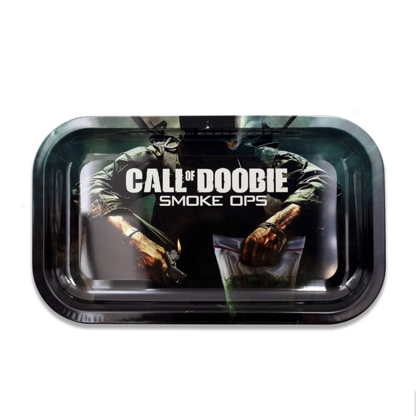 V. Syndicate Metal Rolling Tray Medium - Call of Doobie