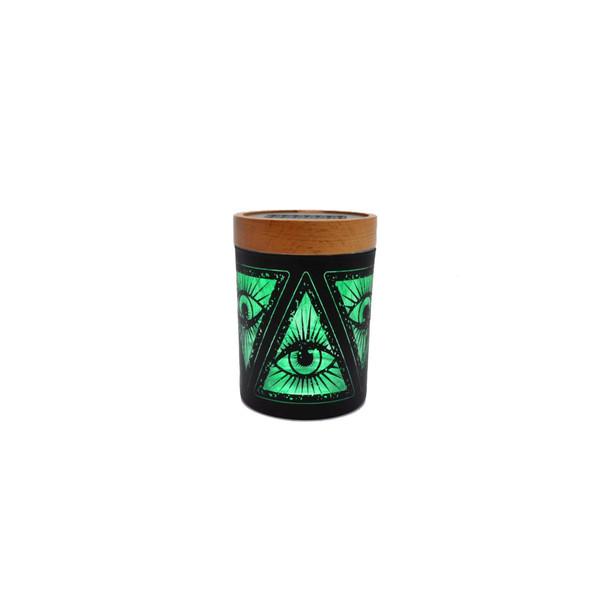 V. Syndicate Smart Stash Small - Illuminati Green