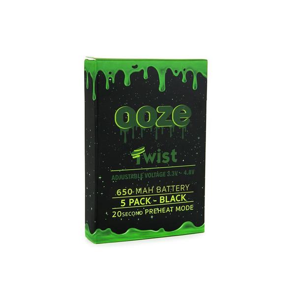 Ooze Twist Battery 5 Pack