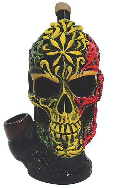 Rasta Sugar Skull