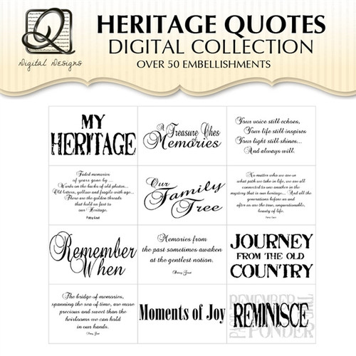 Heritage Quotes Digital Collection