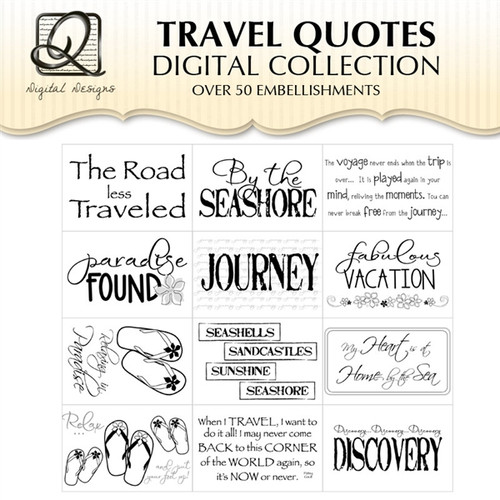 Travel Quotes Digital Collection