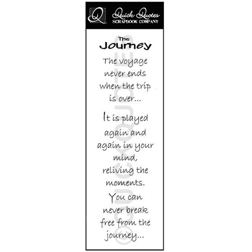 The Journey Vellum Strip 1