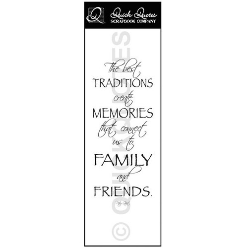 The best traditions - Vellum Strip
