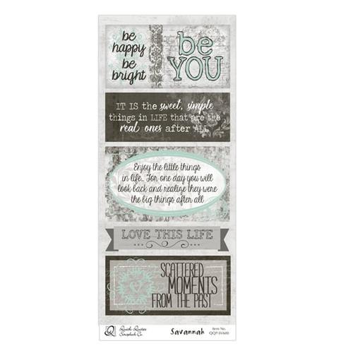 Savannah Quotes & Phrases