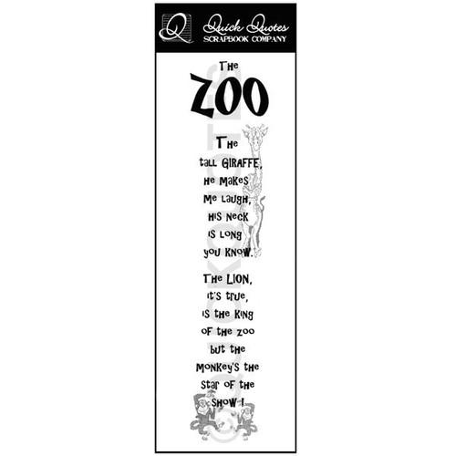 The Zoo Vellum Strip