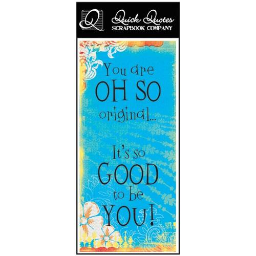 You are oh so Original - Color Vellum 1