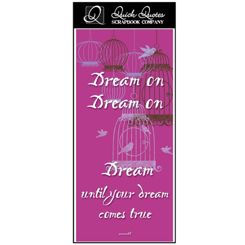 Dream On - Color Vellum 1